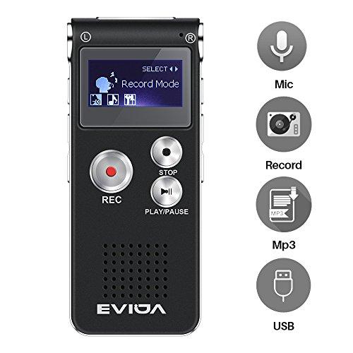 fach 8 Gb Recorder Wiederaufladbare Lcd Digital Audio Recorder Aufnahme Telefon Mp3 Player Mit Var/usb-sprachaufzeichnungsanlage-diktaphon-mp3-player Vor Eingebautes Mikrofon Dinge Bequem Machen FüR Kunden